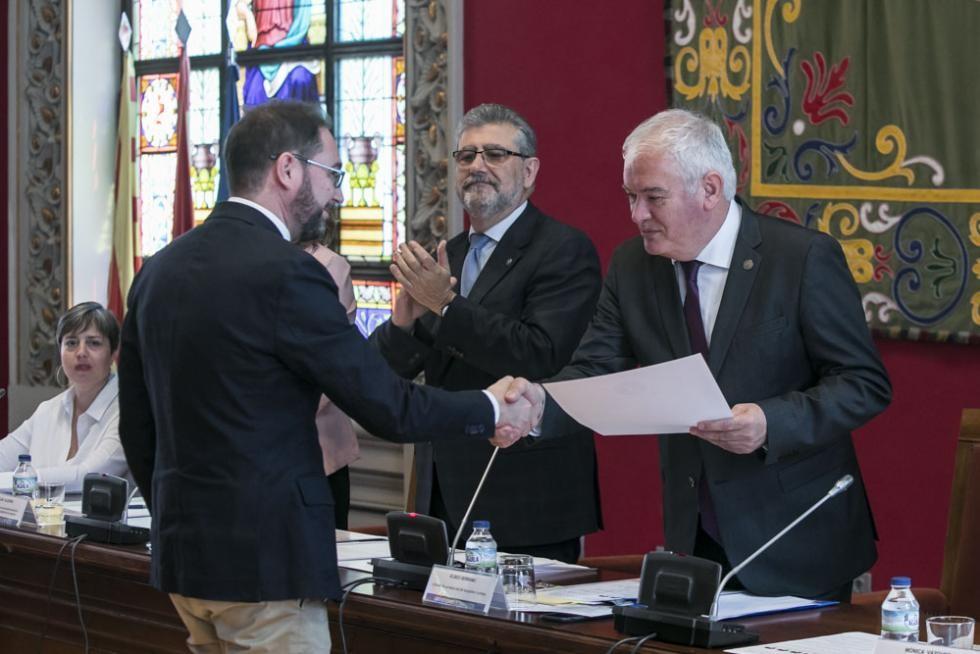 Francisco García Las Heras, nuestro docente, recibe un Premio Extraordinario