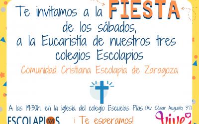 Eucaristía Comunidad Cristiana Escolapia Zaragoza